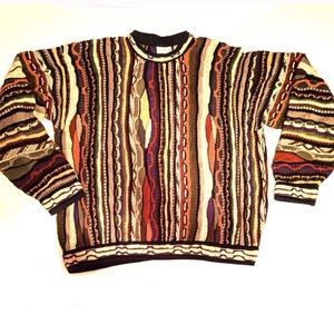 COMING SOON - Vintage Coogie Earth Tone Sweater